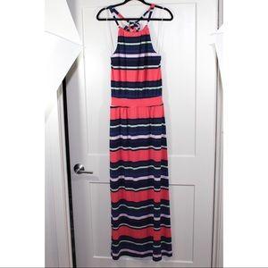 Gap maxi dress with a halter top